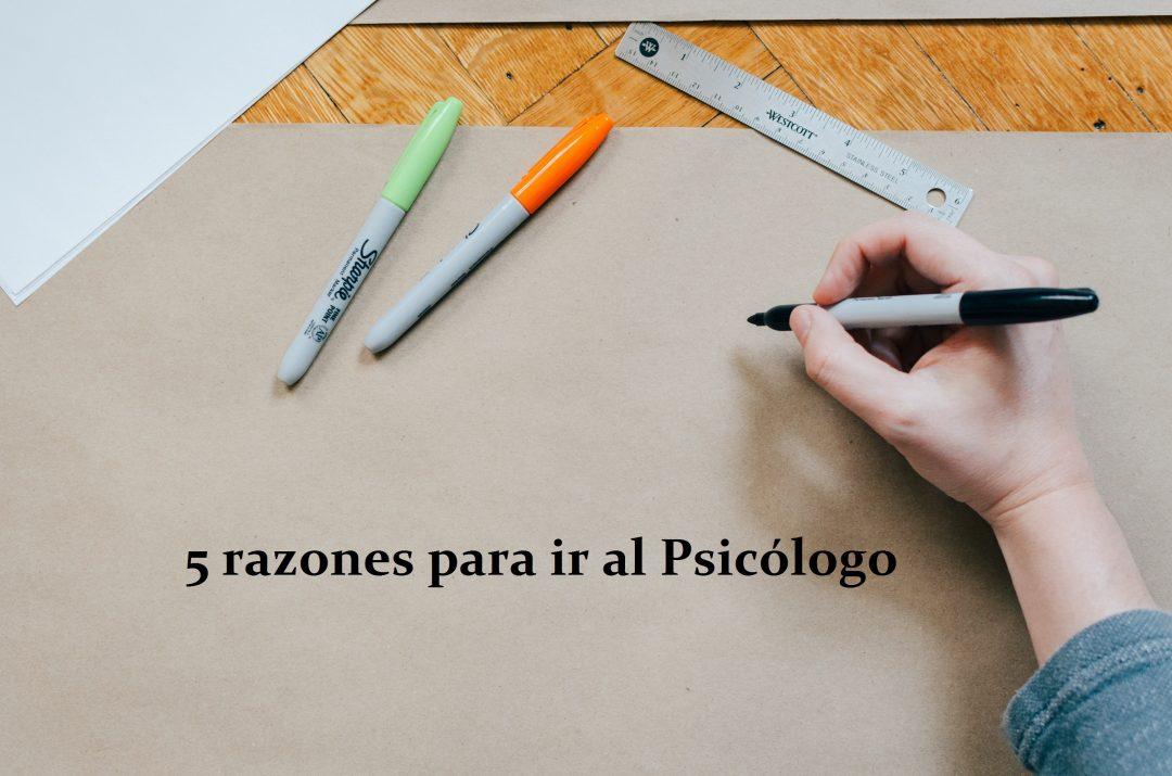 Razones para ir al psicologo Alcanza Psicologos